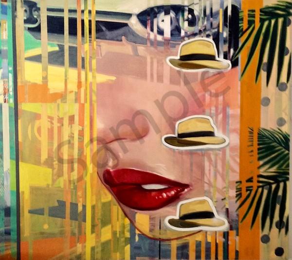 She Has An Eye For Fast Cars 60x68 Art   sheldongreenberg