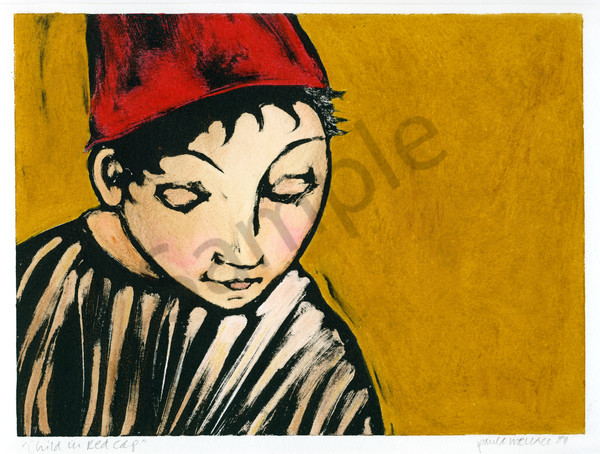 Child in a Red Cap