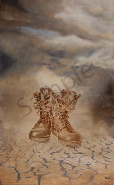 """Shoes Of The Gospel of Peace"" by New Zealand Artist Liezl Viljoen   Prophetics Gallery"