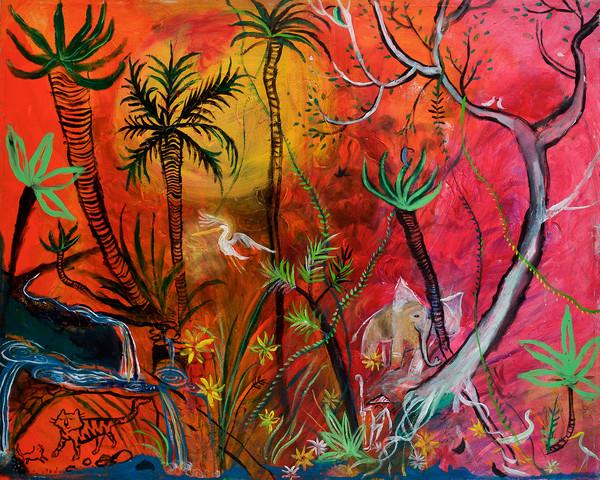 Tiger Fruit Cave Art | DuggArt