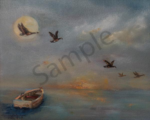 """Going Home"" by Pennsylvania Artist Nancy Swope | Prophetics Gallery"