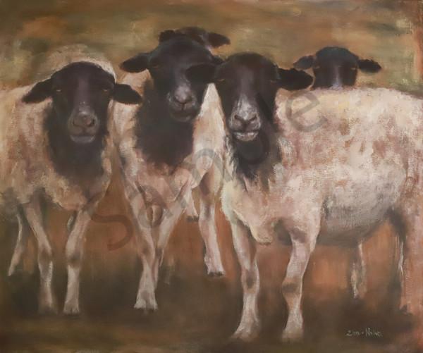 """My Sheep"" by South African Artist Elizma Van Niekerk | Prophetics Gallery"