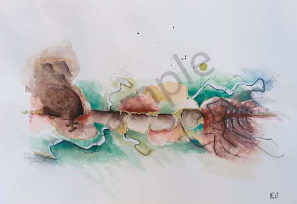 """Isaiah 66:1"" by South African Artist Elizma Van Niekerk | Prophetics Gallery"
