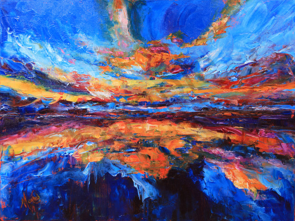 """""""Breakthrough Reflections"""" by California Artist Mary Crawford   Prophetics Gallery"""