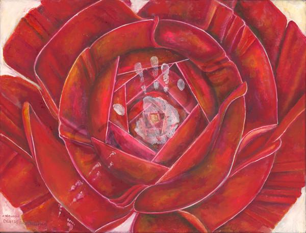 """A Wrinkle"" by Minnesota Artist Denise Dahlheimer | Prophetics Gallery"