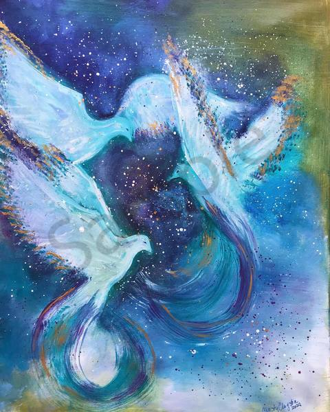 """""""God's Breath"""" by New Mexico Artist Christy Clugston 
