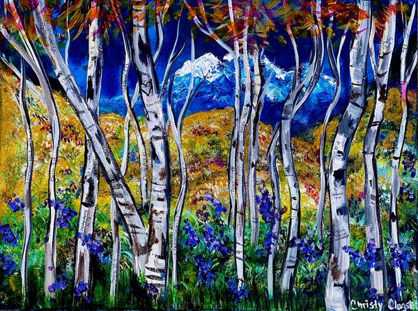 """""""Aspen"""" by New Mexico Artist Christy Clugston 