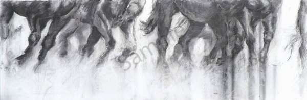 """RUN"" by Canadian Artist Patricia Bowman Kingsley | Prophetics Gallery"