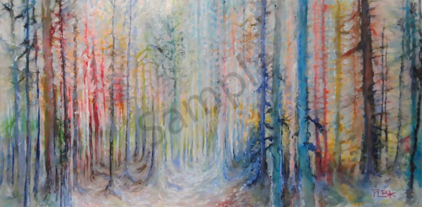 """""""Storyland"""" by Canadian Artist Patricia Bowman Kingsley 
