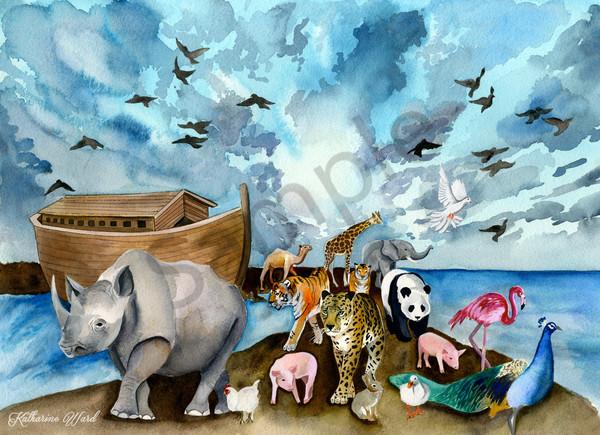 """Recede"" by California Artist Katharine Ward | Prophetics Gallery"