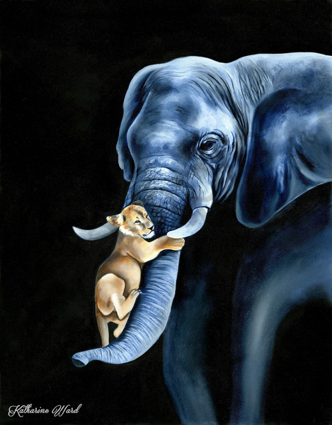 """""""Carry Me"""" by California Artist Katharine Ward 