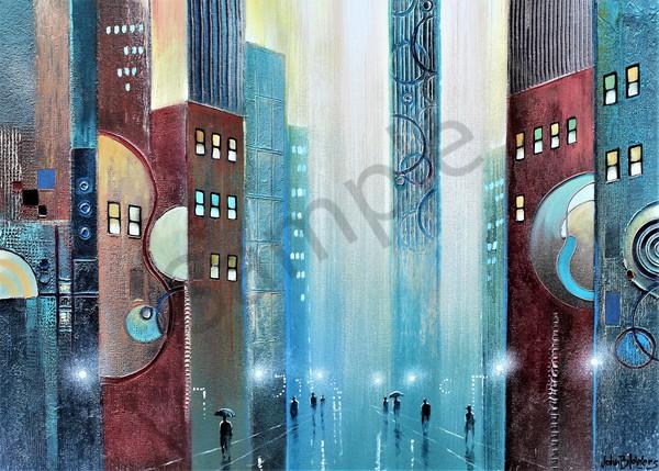 Citiscape1 Art | John Blowers Art