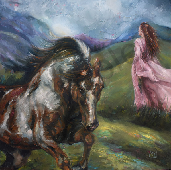 """""""Unique And Beautiful"""" by South African Artist Ronel Eksteen 