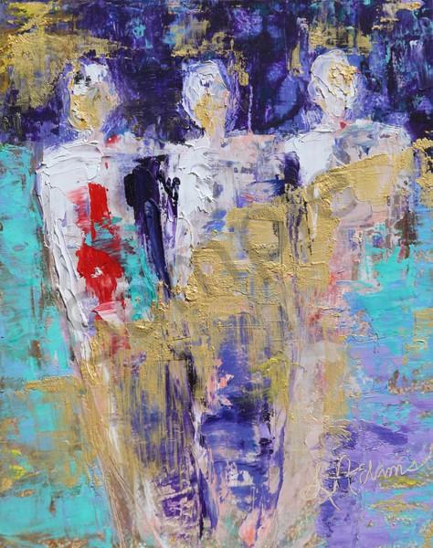 """The Trinity"" by North Carolina artist Sharon Adams | Prophetics Gallery"