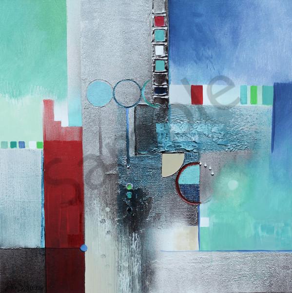 "Traffic 1  24"" X 24"" Art | John Blowers Art"