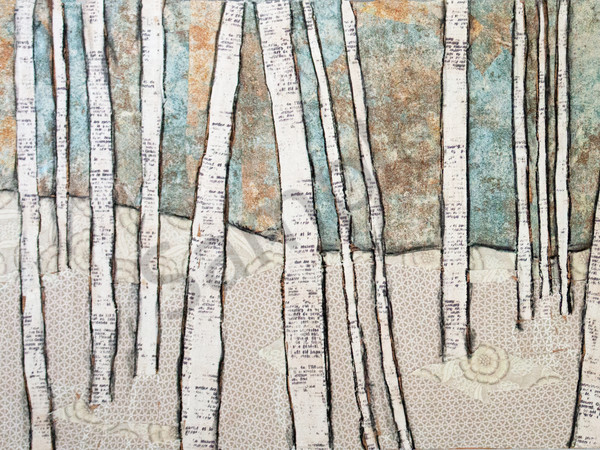 Winter Birch Print Art | Sharon Tesser LLC