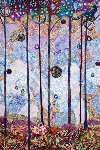 Peaceful Forest Print Art | Sharon Tesser LLC