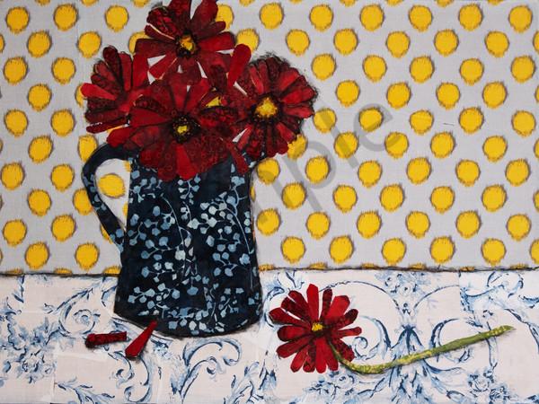 Fallen Petals Print Art   Sharon Tesser LLC