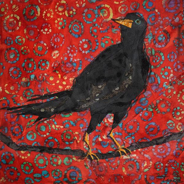 The Crow Print Art | Sharon Tesser LLC