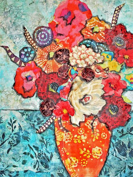 Floral Still Life (2) Print Art   Sharon Tesser LLC