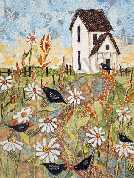 In The Flowers Print Art   Sharon Tesser LLC