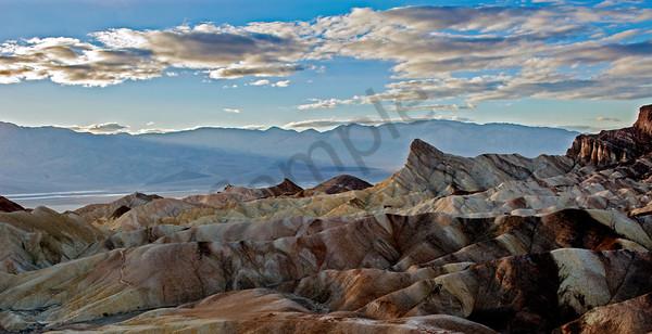 Artist's Palette Of Death Valley Art | BlackRock Medium LLC.