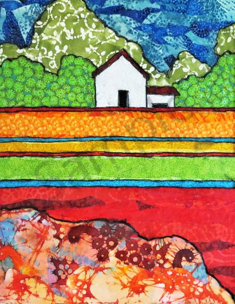 White Barn Print Art | Sharon Tesser LLC