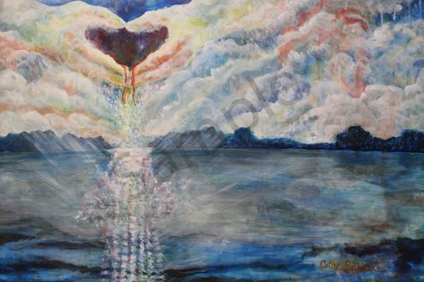 """Love Makes A Way"" by Ohio Artist Cathy Schock | Prophetics Gallery"