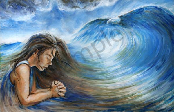"""Prayer Like A Tidal Wave"" by Canadian Artist Melani Pyke | Prophetics Gallery"