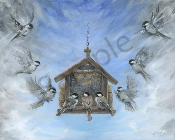 """Attending Church"" by Canadian Artist Melani Pyke | Prophetics Gallery"