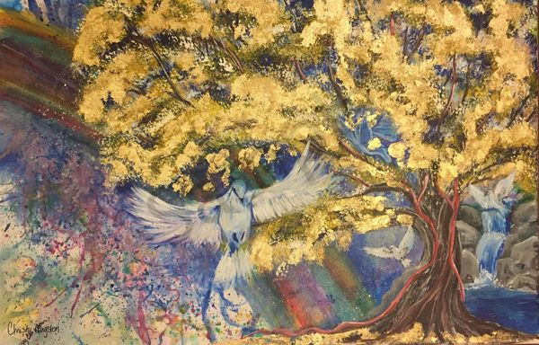 """""""Ascending Peace"""" by Christy Clugston 