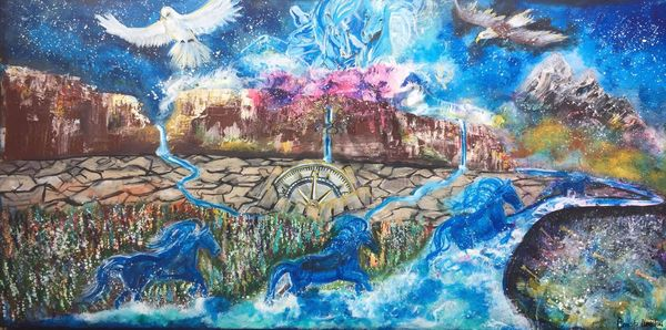 """""""It's Time"""" by New Mexico Artist Christy Clugston 