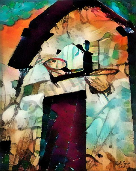 """Hoops"" by Indiana Digital Artist Mark Rouse | Prophetics Gallery"