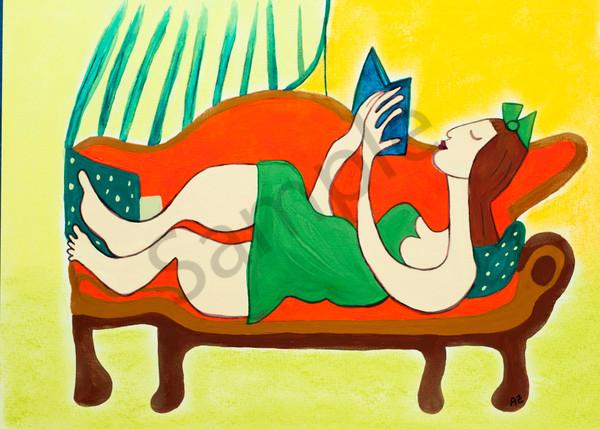 Zappler Book Lover 7x5 Art | arteparalavida
