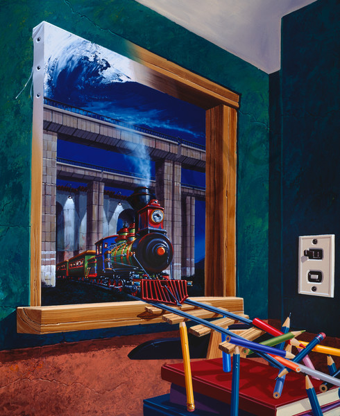 Fantastic Trip Art | Moshe Volcovich