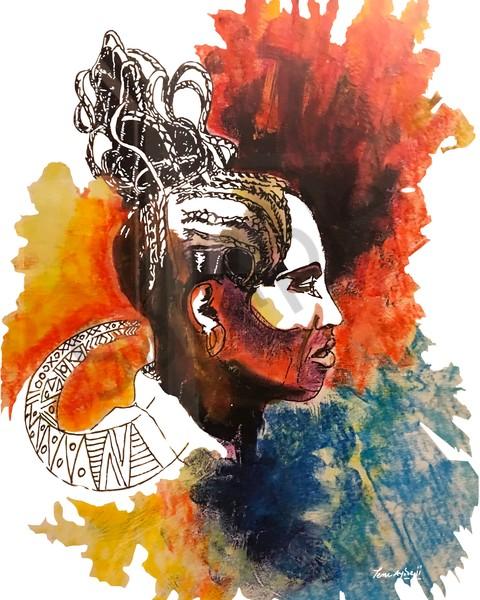 Queen Mother  Art | TEMI ART, LLC.