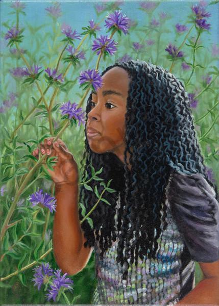 Fragrant Moment Art | Roxana Sinex Art