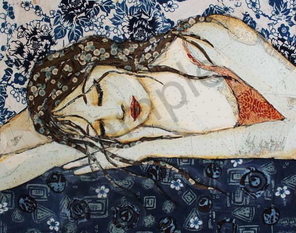 Sleeping Beauty print on metal, acrylic or gallery wrap canvas