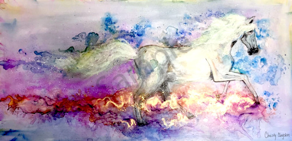 """""""Rushing Waters"""" by New Mexico Artist Christy Clugston   Prophetics Gallery"""