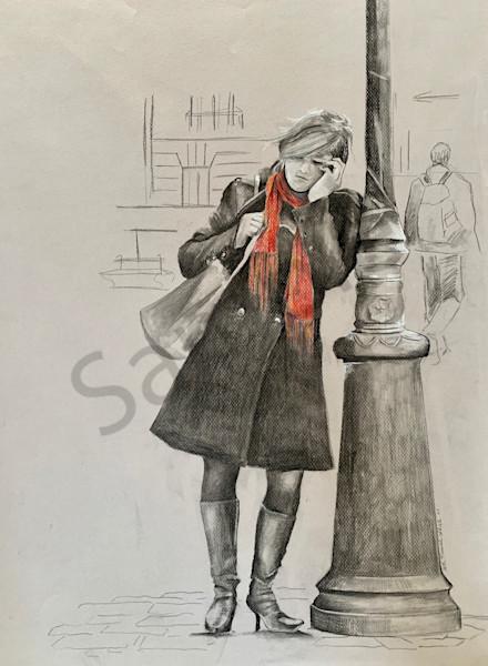 """Paris, France"" by North Carolina Artist Patti Hricinak-Sheets | Prophetics Gallery"