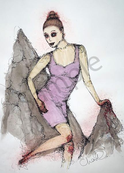 Climbing Courage Art | Atelje Rose