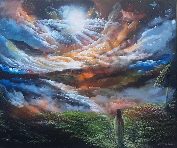 """Jesus The Only Way"" by Denmark Artist Bo Schultz   Prophetics Gallery"