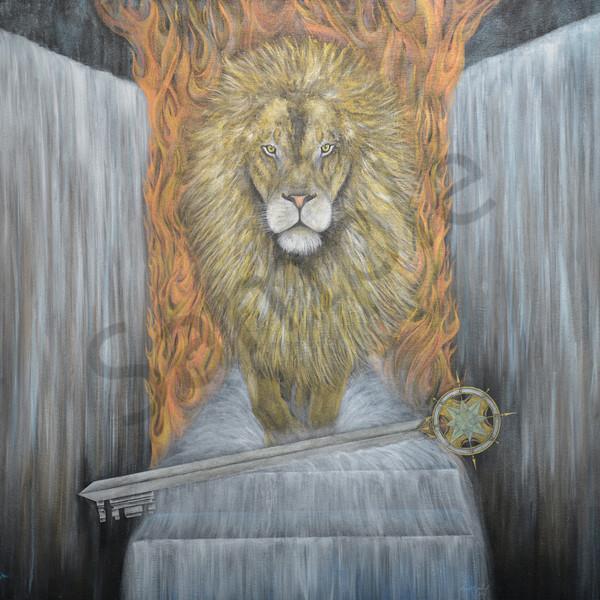 """Sword of Redemption-Key of Relationship"" by Colorado Artist Codye Reystead | Prophetics Gallery"