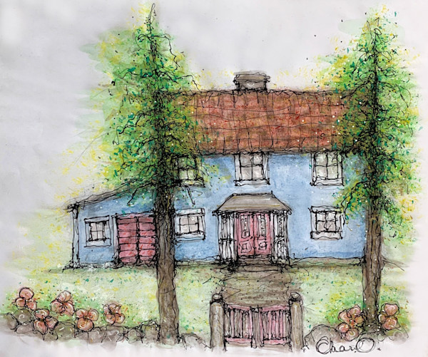 Cottage Castle Art | Atelje Rose