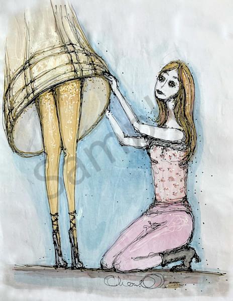 Femme Fatale Art   Atelje Rose