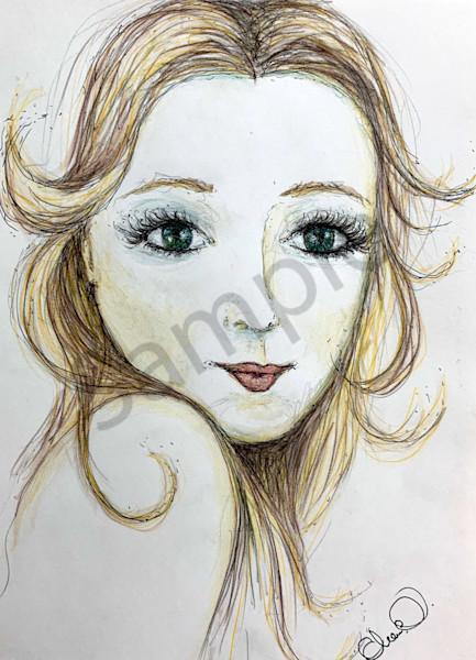 Ocean Eyes Art   Atelje Rose