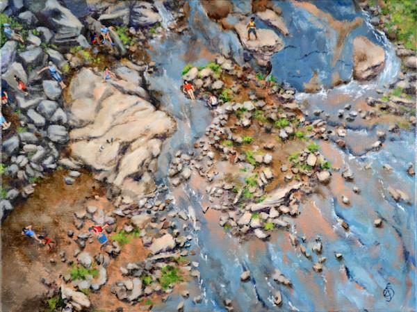 Down On The Reedy I Art | Roxana Sinex Art