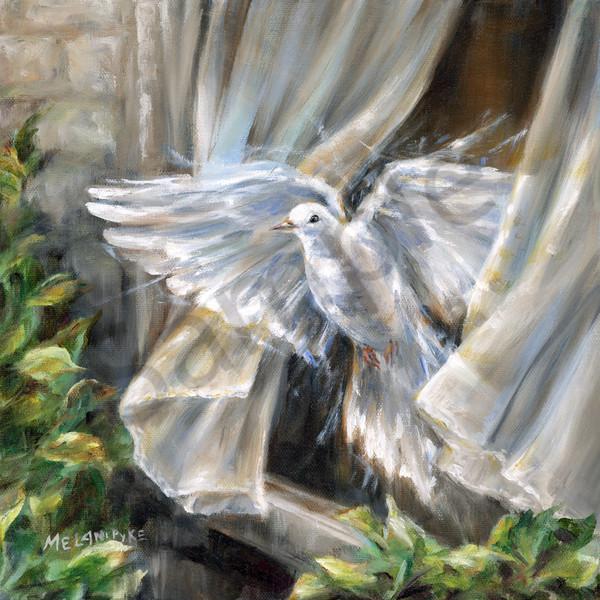"""Dove Flying Free"" by Canadaian Artist Melani Pyke | Prophetics Gallery"