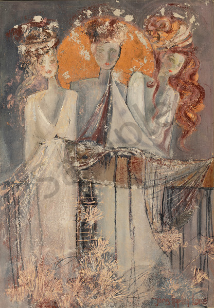 """Waiting For The Groom"" by South African Artist Janis Ann Hopley 