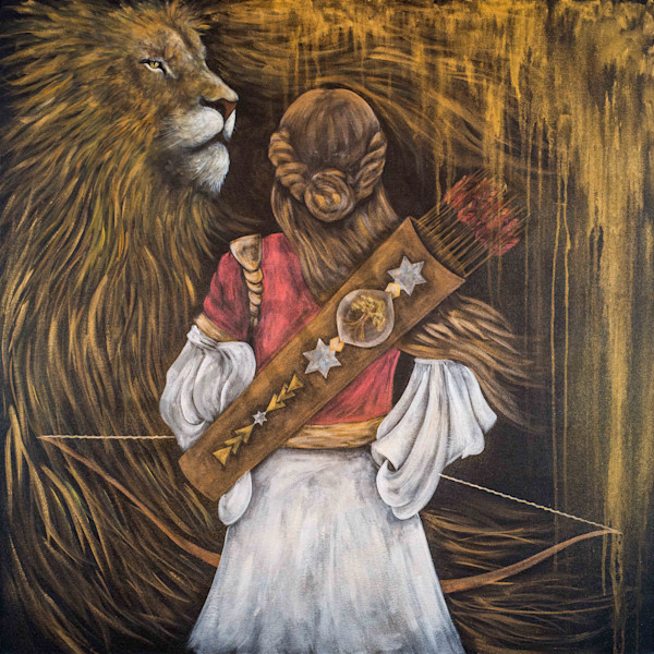 """""""Anointing Of The Archers"""" by Colorado Artist Codye Reystead 